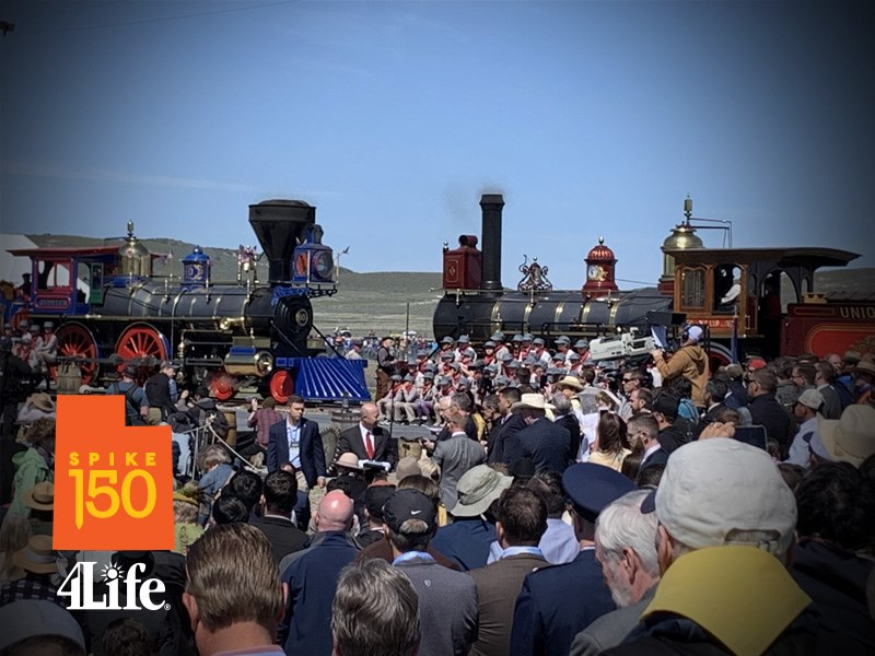 Aniversario 150 del Golden Spike