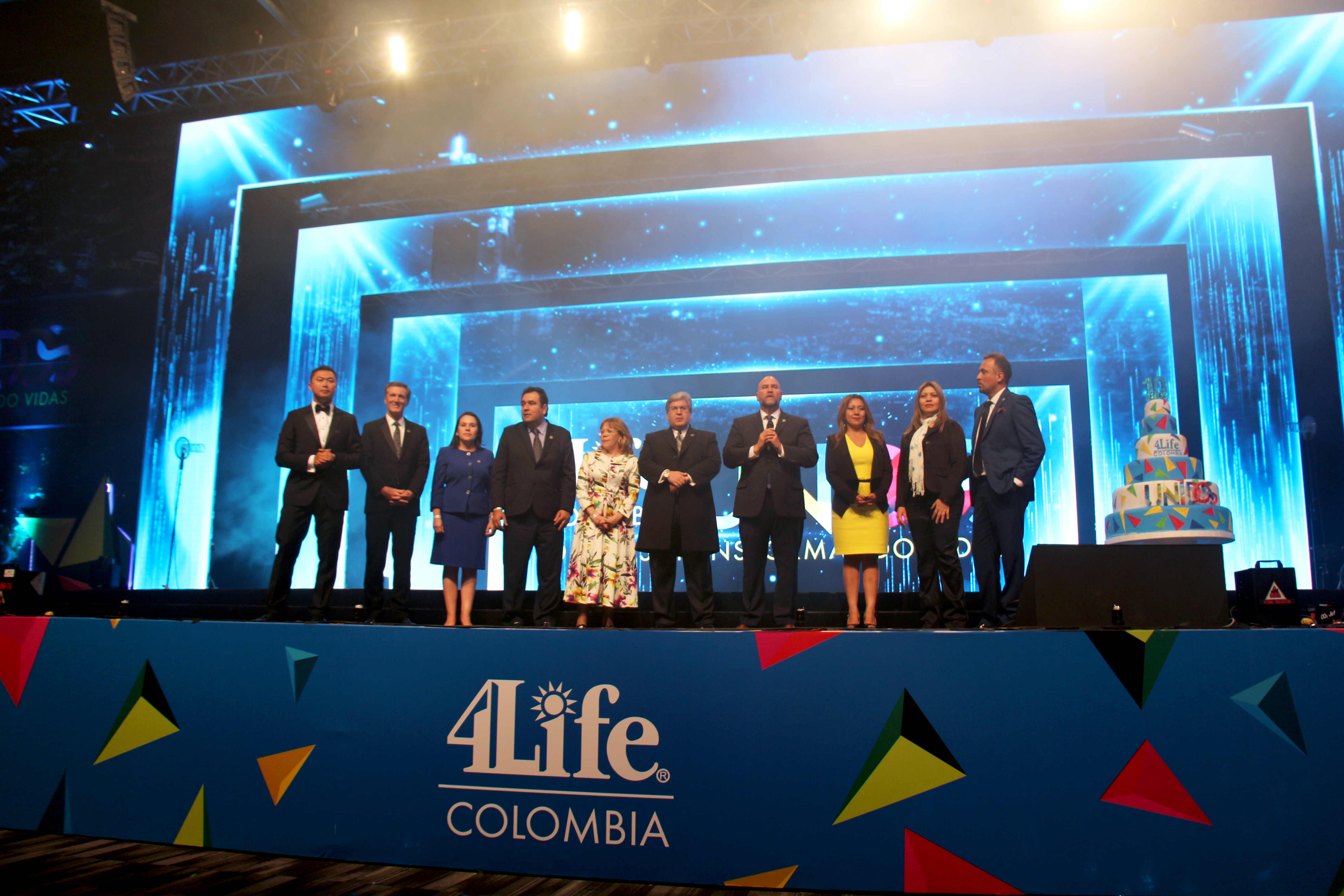 4Life Colombia Tenth Anniversary