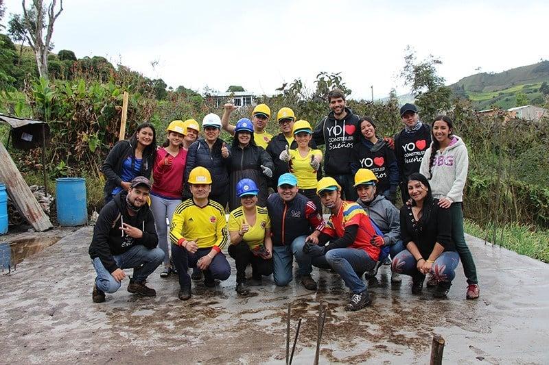 A 4Life<sup>®</sup> Colômbia constrói casas