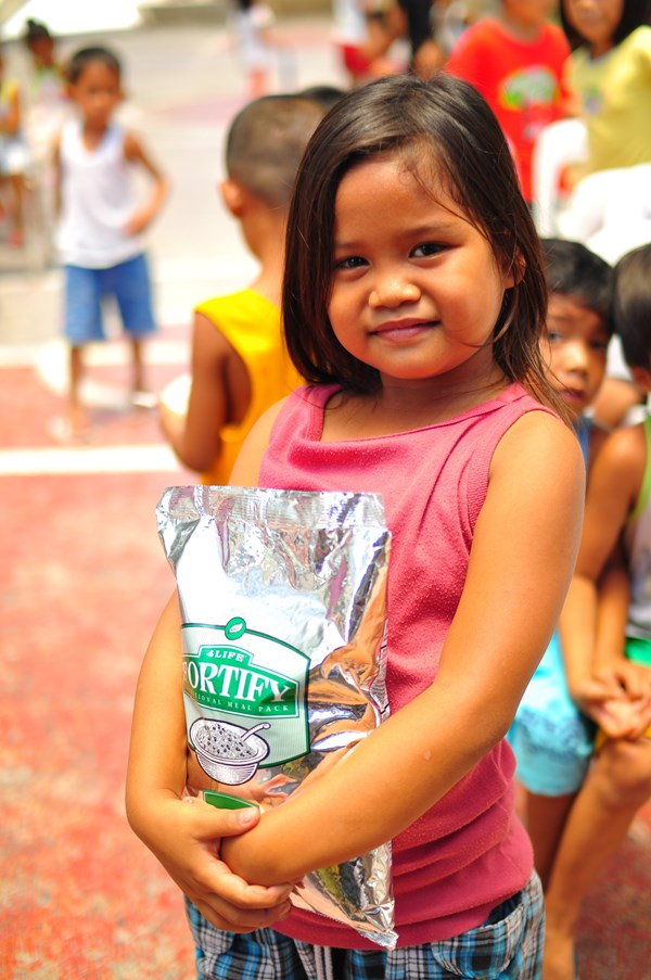 A Million Meals Donated