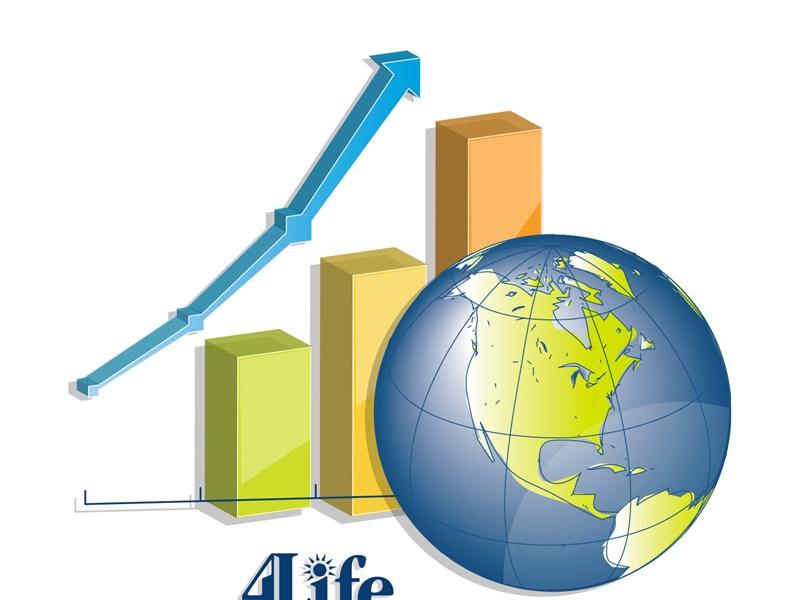 Crescimento Global 4Life