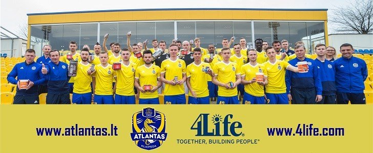 4Life − Fornecedor exclusivo de suplementos do FK Atlantas