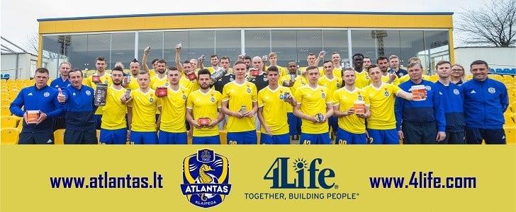 4Life<sup>&reg;</sup>: fornitore esclusivo di integratori per l'FK Atlantas