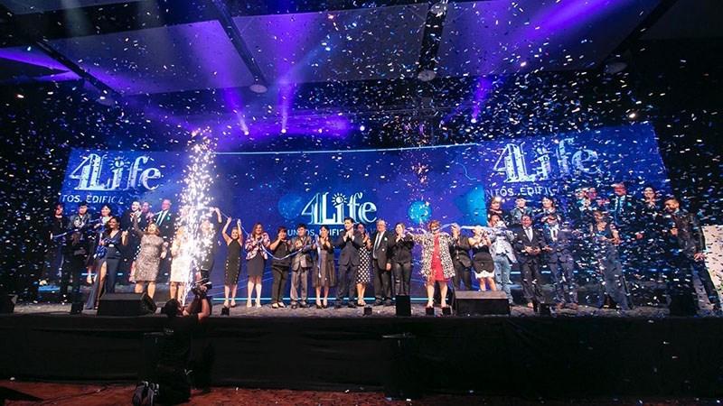 Noveno aniversario de 4Life Bolivia