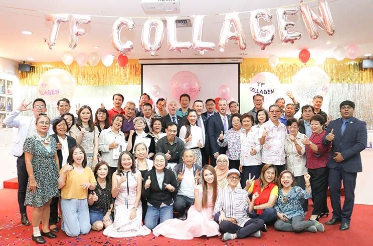 Collagen launch in Thailand