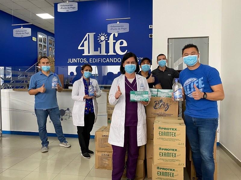 Doação para o Hospital Universitário La Samaritana