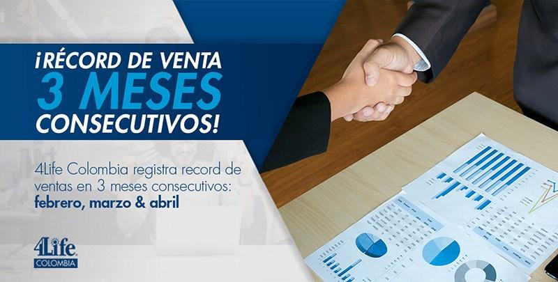 Récord de ventas en Colombia