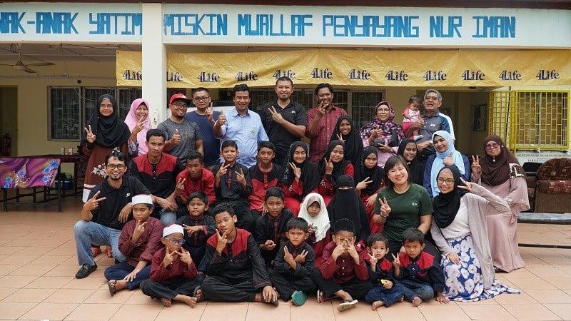 4Life Malaysia at Local Orphanage