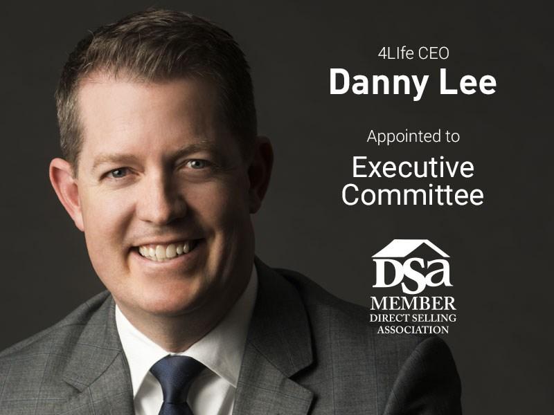 El Presidente y Director General Ejecutivo de 4Life se une al Comité Ejecutivo de la DSA
