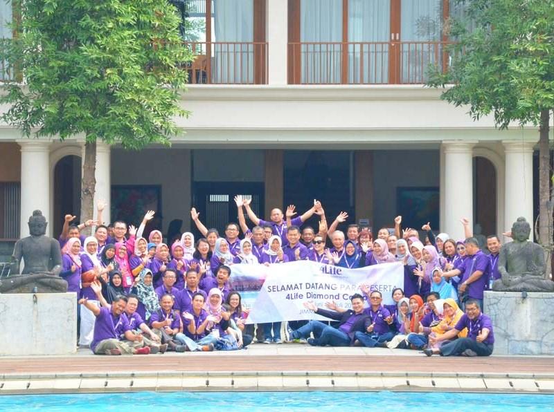4Life Indonesia Mengadakan Diamond Camp 14