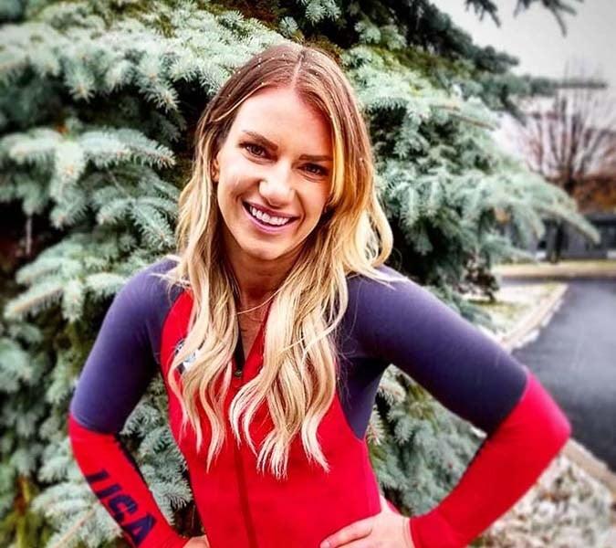 Une bobeuse olympique rejoint l'équipe Team 4Life