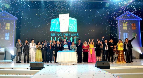 Cuarto aniversario de 4Life Indonesia