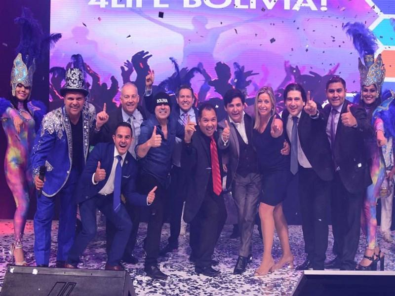 4Life Bolivia Celebrates Eighth Anniversary
