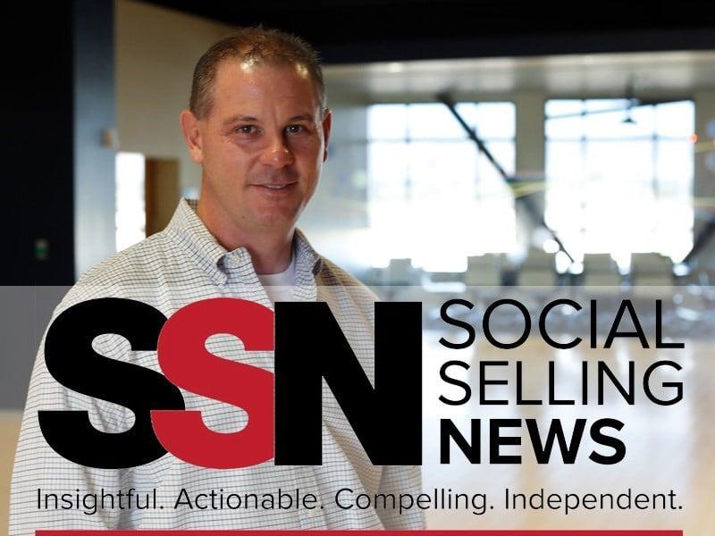 Le Chef de la direction scientifique fait la couverture de <em>Social Selling News</em>