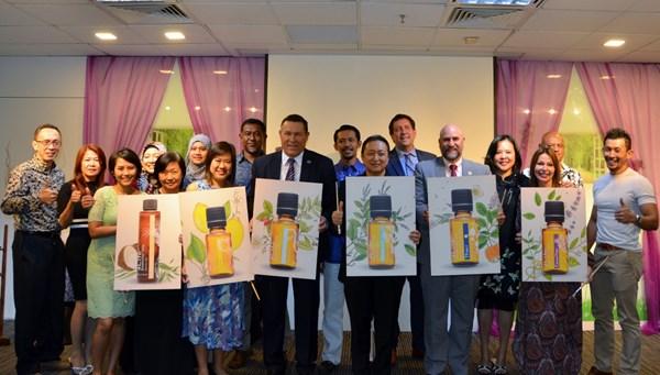 4Life Singapore Launches 4Life™ Essential Oils