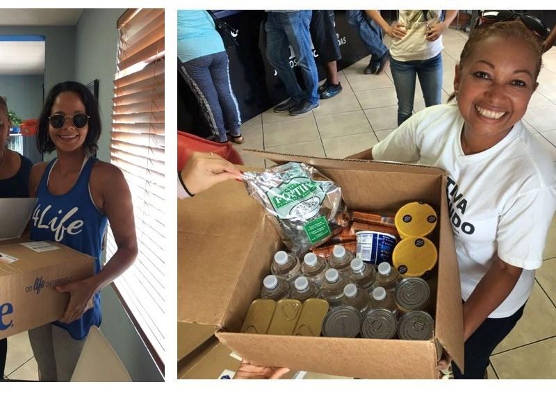ファウンデーション4Life<sup>®</sup> プエルトリコへ支援
