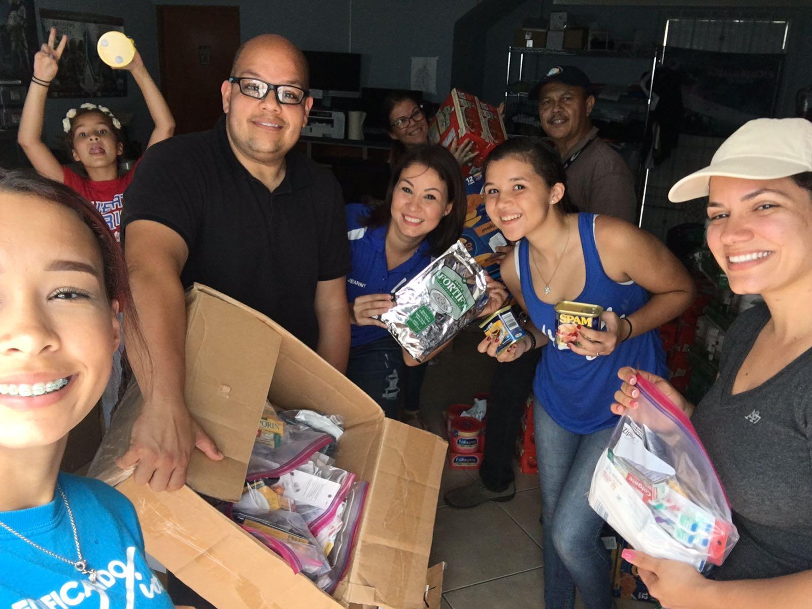 Esfuerzos de ayuda por el huracán María en Puerto Rico