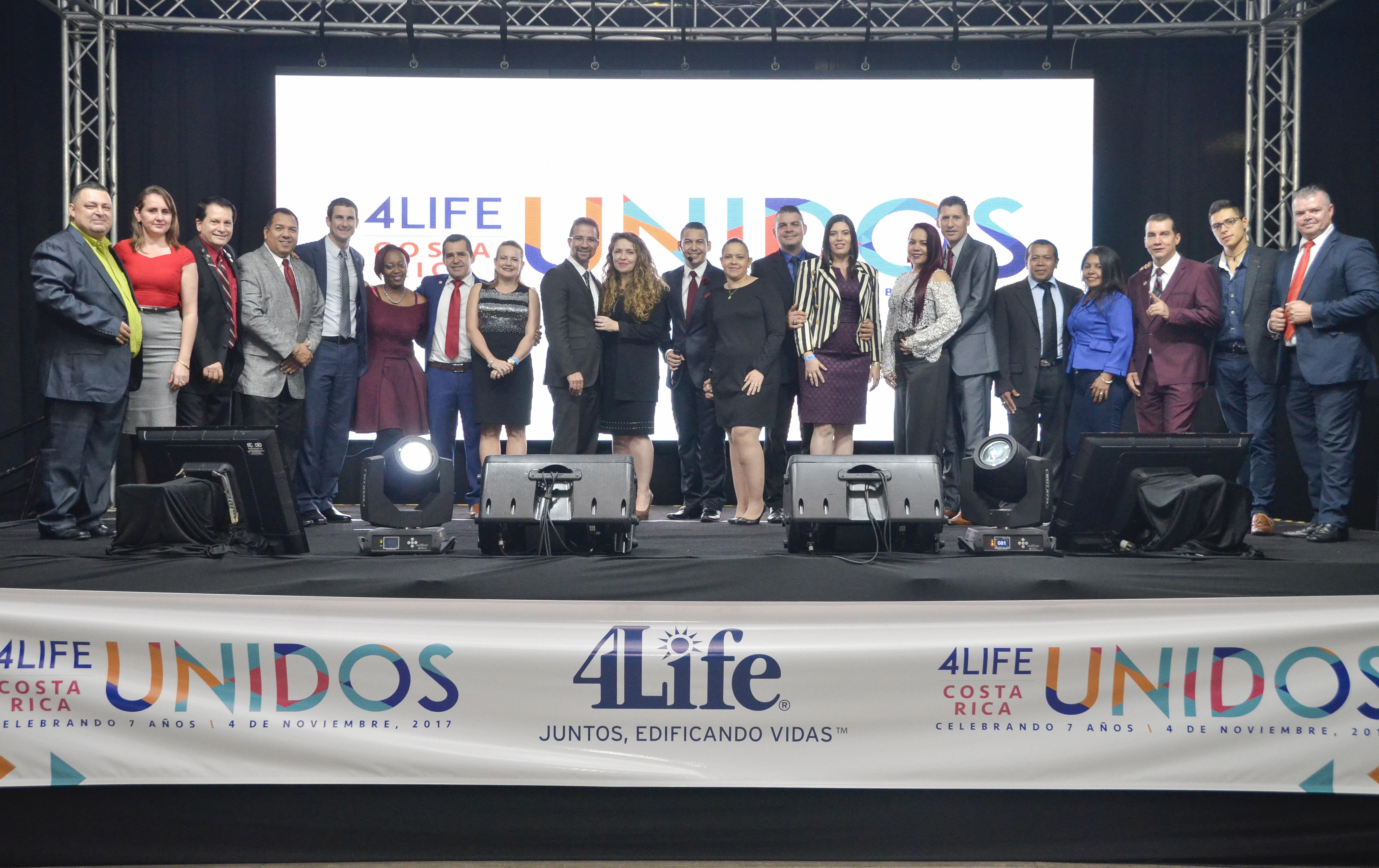 Séptimo aniversario de 4Life Costa Rica