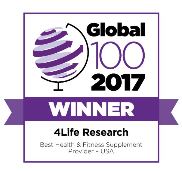 4Life: vincitore del Global 100