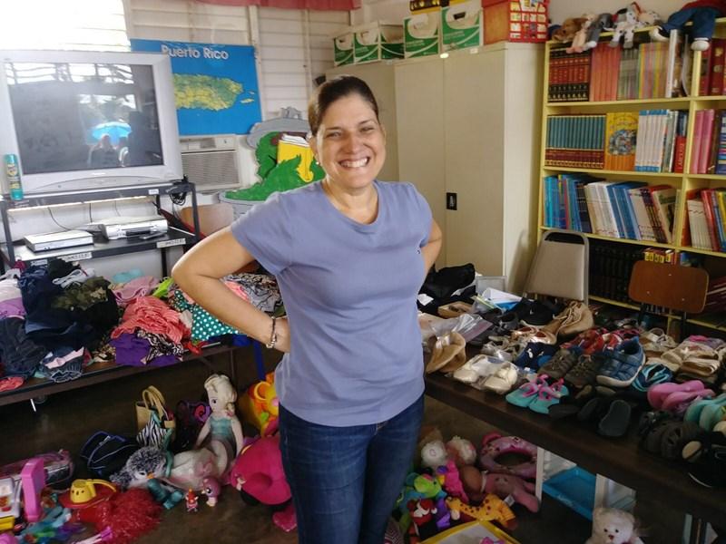 <em>Foundation 4Life</em><sup>™</sup> padeda mokyklai Puerto Rike