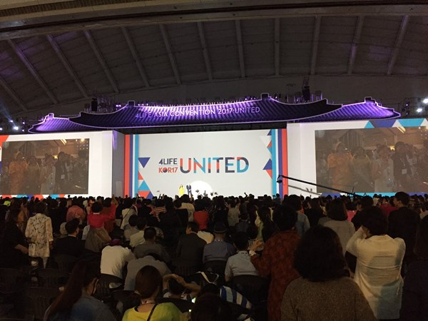 6,000 People Attend Asia Convention