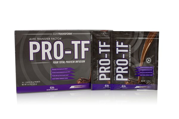 4Life Announces PRO-TF® Chocolate Packets