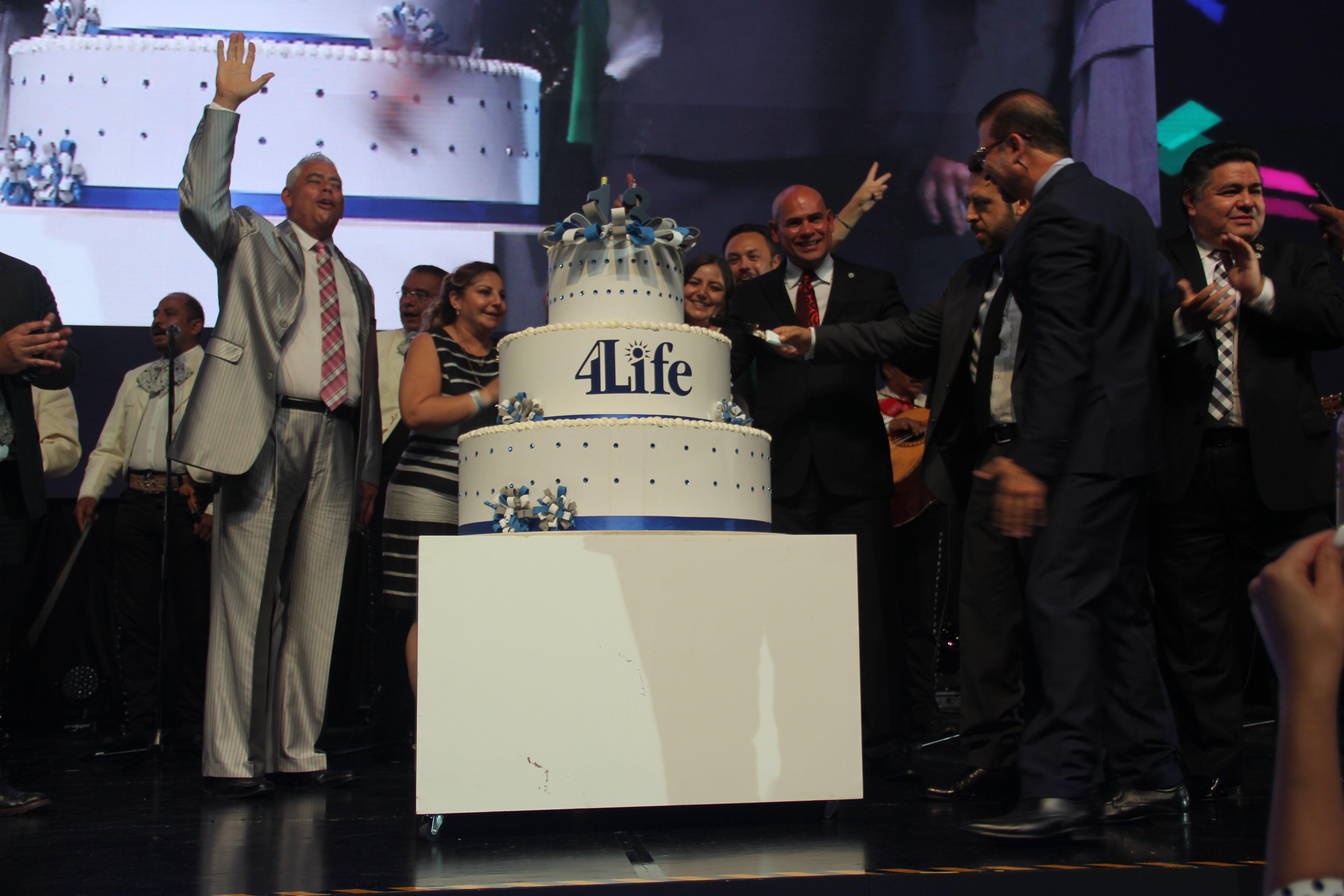 13er aniversario de 4Life México