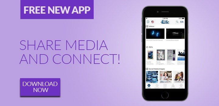 New 4Life Connect App