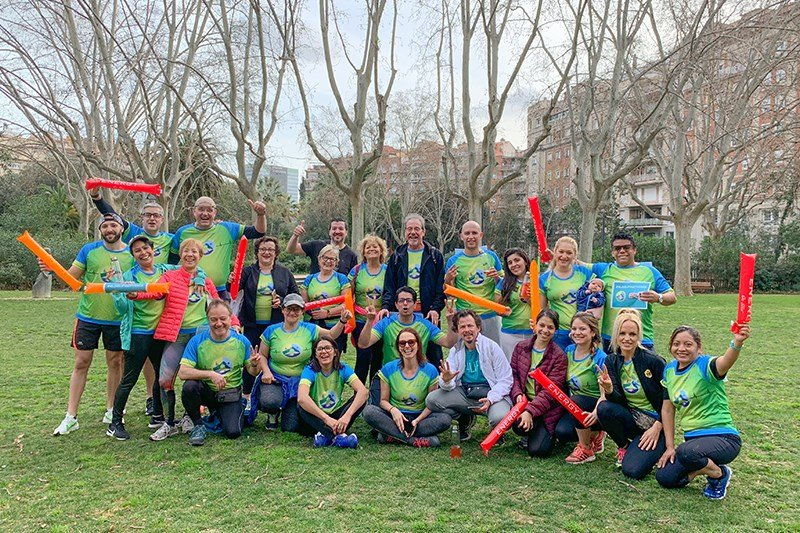 4Life doesn't stop moving with the second Solidarity Race in Barcelona