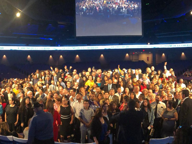 Rally de 4Life previo a la Convención
