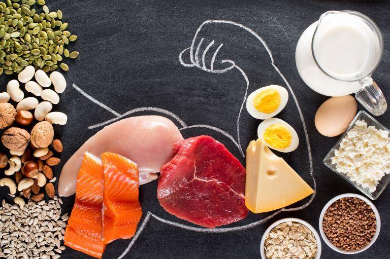 Tres pros de la proteína