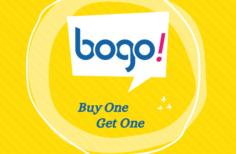 BOGO 2021: Buy One and Get One
