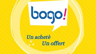 BOGO 2021 : Un acheté, un offert