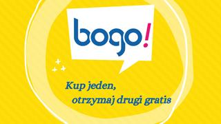 BOGO 2021: Kup jeden produkt, a drugi otrzymasz gratis