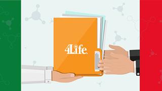 Sospensione dell'invio elettronico delle documentazioni 4Life