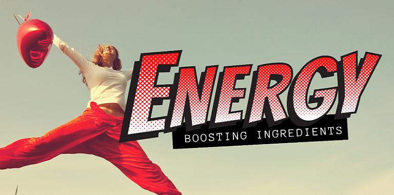 Energy Boosting Ingredients
