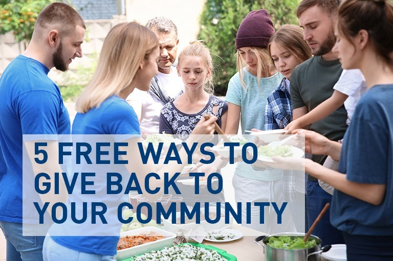 5 Easy and Free Ways to Give Back to Your Community