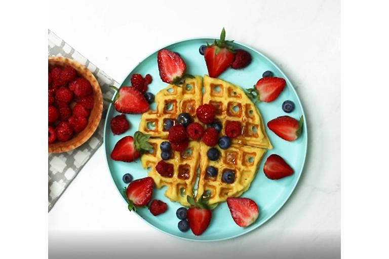 Waffles con PRO-TF®