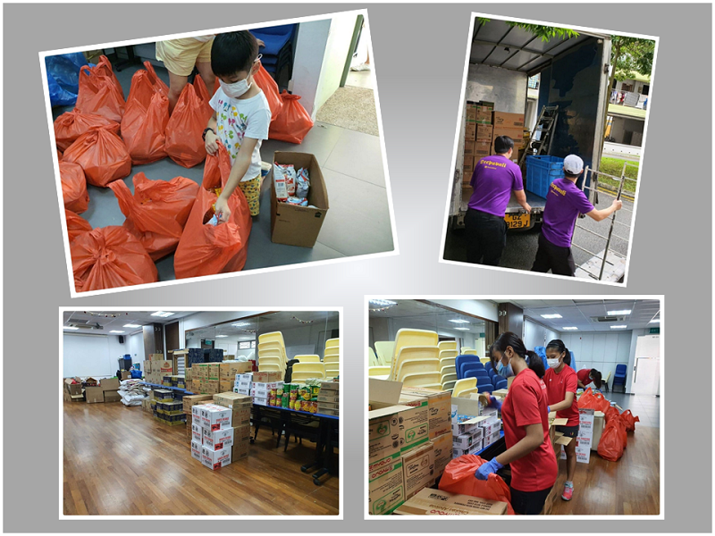 Admiralty Food Project Donation