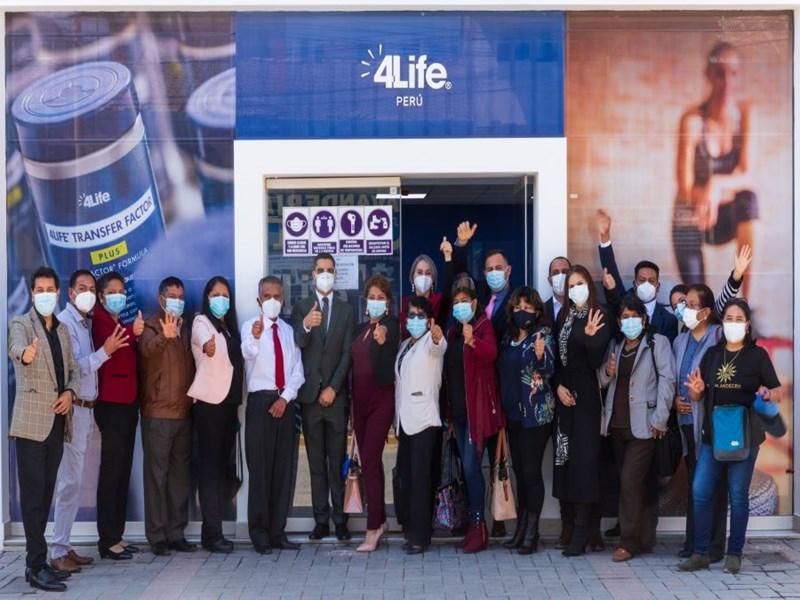 4Life Perú apertura su nueva oficina en Huancayo