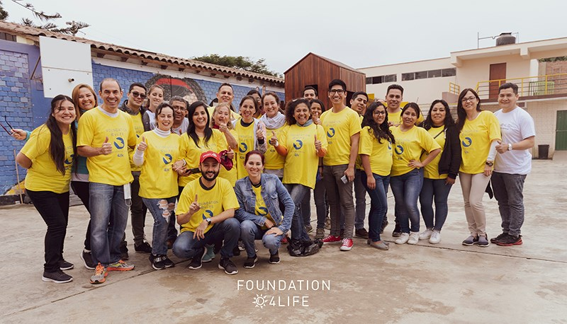Foundation 4Life Remodels Safehouse in Peru