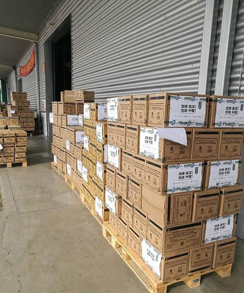 Donación de 4Life a la Cruz Roja de Shanghái