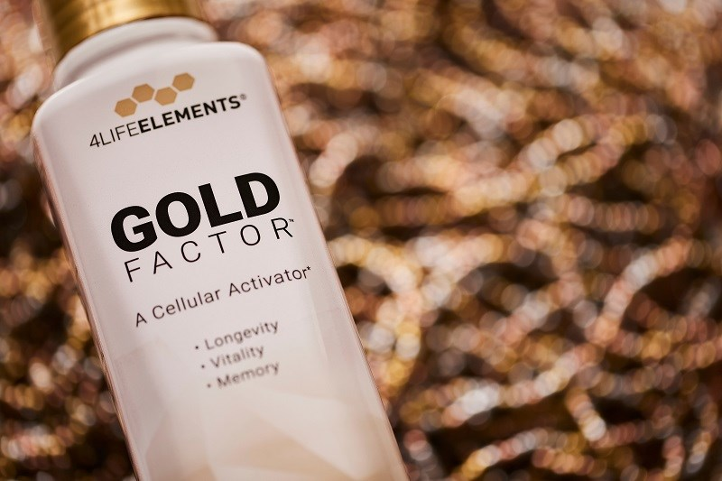 4Life Research lanza Gold Factor