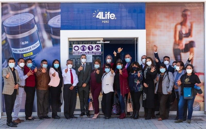 Nueva oficina de 4Life en Perú