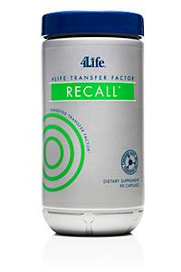 4Life Transfer Factor<sup>®</sup> ReCall<sup>®</sup>