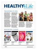 Healthy 4Life<sup>®</sup> Newspaper (English) - Updated!