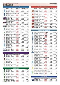 Lista de Precios de Productos 4Life Japón + Orden de compra (5 unidades)