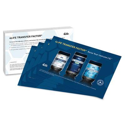 4Life Transfer Factor® Marketing Cards
