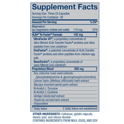 4Life-Transfer-Factor-ReCall-ingredients
