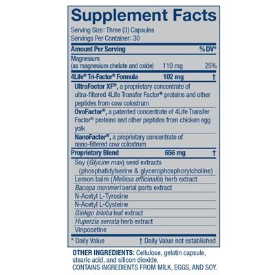 4Life-Transfer-Factor-ReCall-ingredients